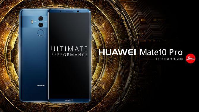 Nu kan du forudbestille Huawei Mate 10 Pro i Danmark