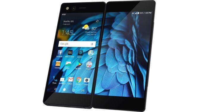 ZTE lancerer foldbar smartphone med to skærme