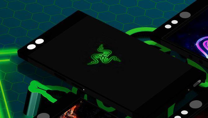 Her er det første billede af Razers smartphone