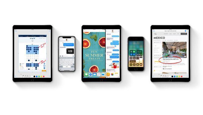 40 % af alle iPhones og iPads har nu iOS 11