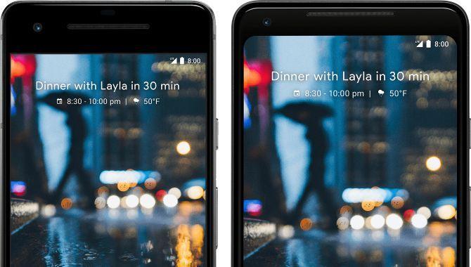 Sammenligning: Google Pixel 2 vs. Pixel 2 XL