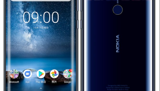 Nye billeder kommer tæt på Nokia 9 i blå