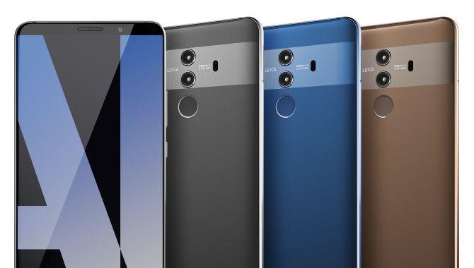 Knivskarpt billede af Huawei Mate 10 Pro viser helt nyt design