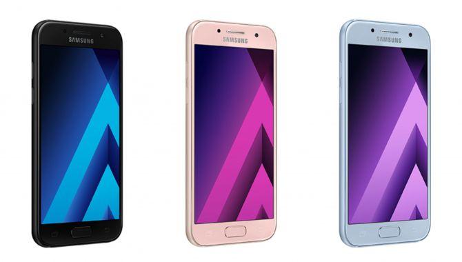 Stort læk af Samsungs 2018-mellemklasse telefoner