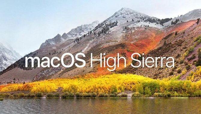 Nu kan du hente MacOS High Sierra
