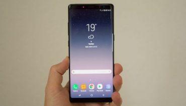 Samsung Galaxy Note8 – en kæmpe af en mobil [TEST]