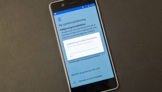 Nokia igen klar med nyeste sikkerhedsopdatering før Google