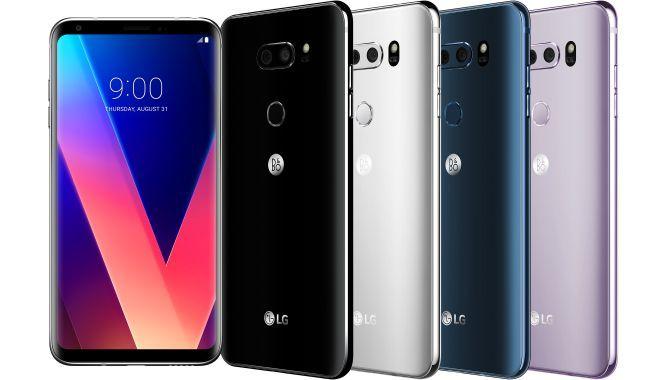 LG V30 er officiel: Spækket med features