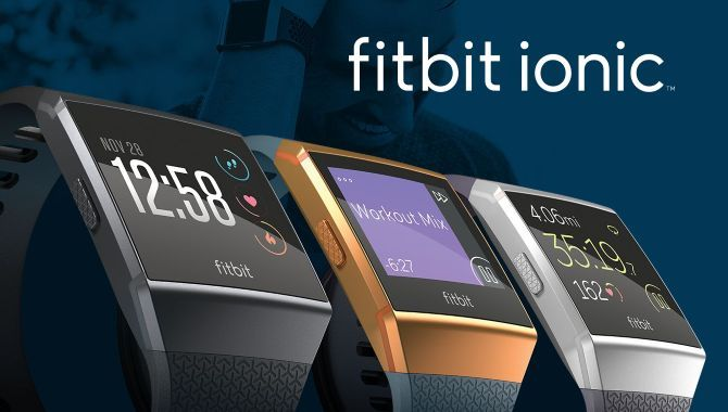 Fitbit Ionic: Aktivitetstracker og smartwatch på én gang