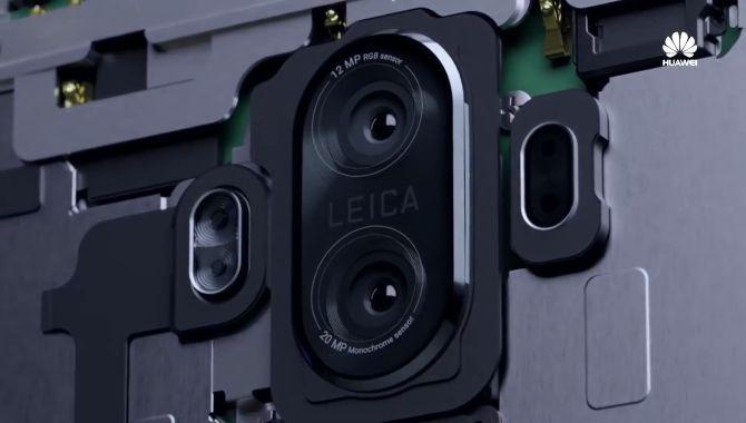 Huawei afslører detaljer om kameraet i Mate 10