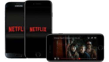 Disse mobiler understøtter Netflix i HD-kvalitet