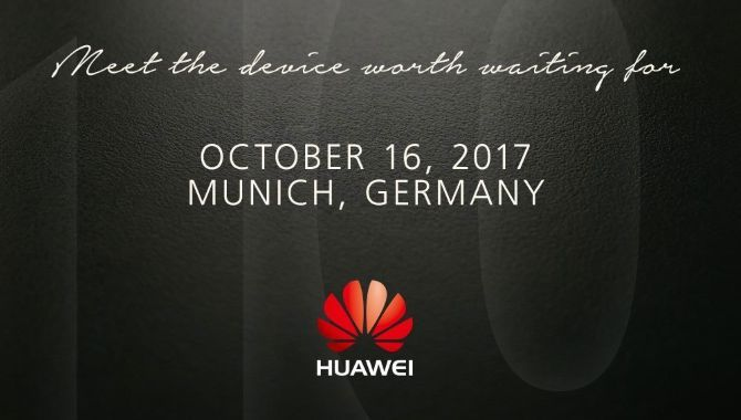 Huawei Mate 10 afsløres den 16. oktober