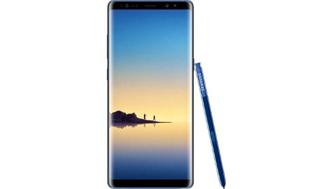 evleaks: Her er Samsung Galaxy Note 8 i Deep Sea Blue