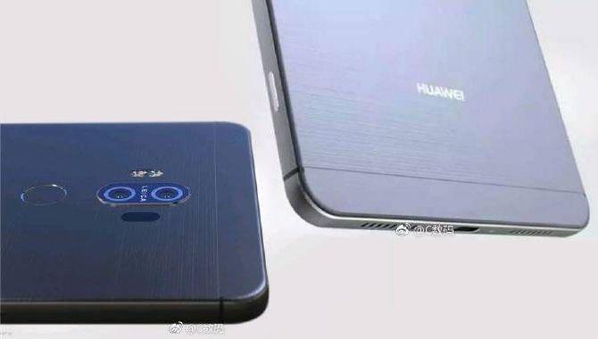 Mulige pressefotos af Huawei Mate 10 lækket før tid