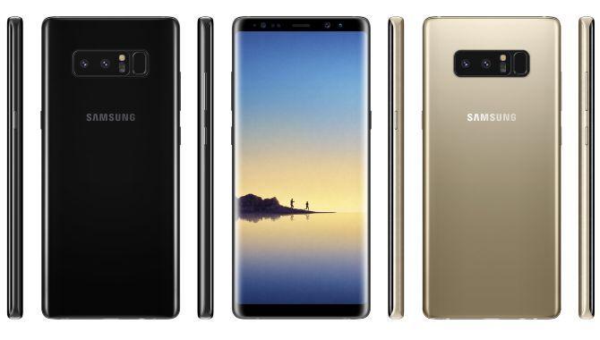 Samsung Galaxy Note 8: Her er de endelige specifikationer