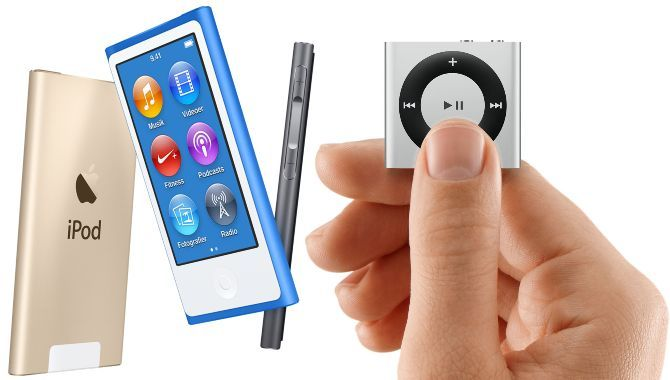 Slut med Apples små iPods: nano og shuffle udgår