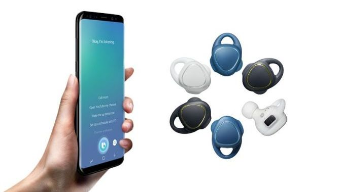 Trådløse Samsung-øretelefoner med Bixby indbygget på vej
