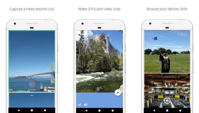 Google lancerer GIF-appen Motion Stills til Android