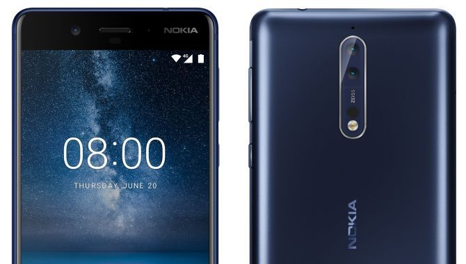 Knivskarpt pressefoto af Nokia 8 lækket