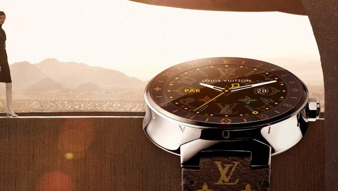 Louis Vuitton lancerer tæskedyrt Android Wear-smartwatch