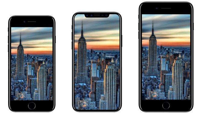 Kun 4 mio. iPhone 8 med OLED-skærm klar ved salgsstart