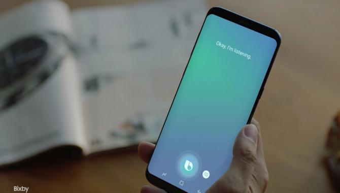 Samsung Bixby Voice er ude – til udvalgte S8-brugere