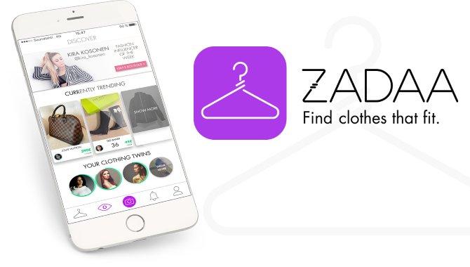 Appen Zadaa klar i Danmark: Køb og sælg tøj nemt og billigt