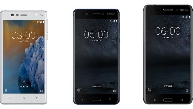 Nu kan du købe Nokia 3, 5 og 6 i Danmark
