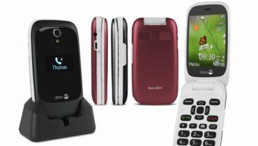Doro 6531 klaptelefon til seniorer [TEST]