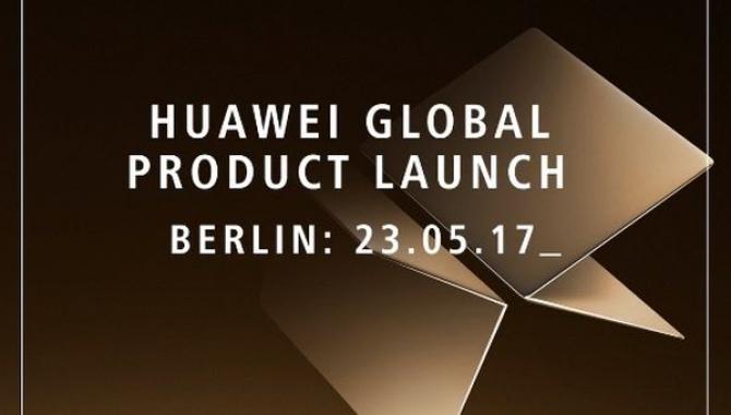 Huawei afholder MateBook-event: Følg det her