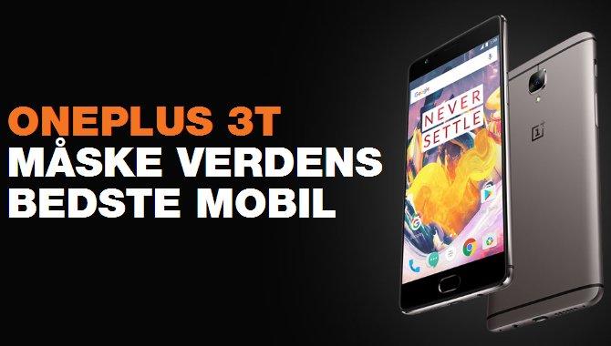 OnePlus 3T sælger nu bedre end Samsung Galaxy S8 hos 3