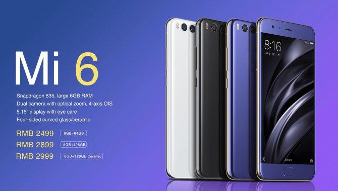 Xiaomi lancerer topmodellen Mi 6