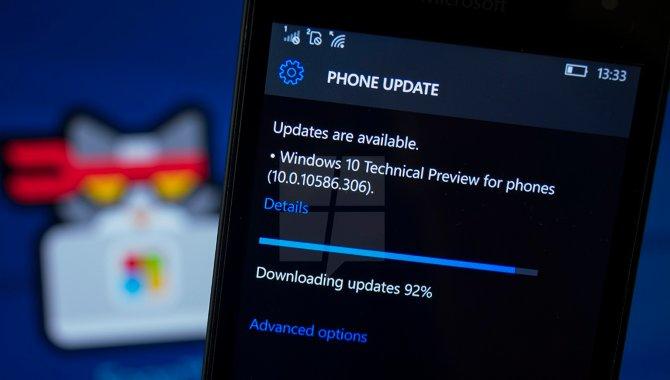 Microsoft stopper med at opdatere smartphones til Windows 10 Mobile