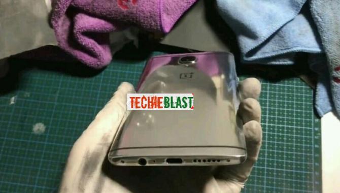 Lækket foto: Se OnePlus 3T i nyt spejlblankt design