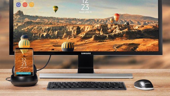 Samsung DeX: Omdan Galaxy S8 til en fuldblods PC