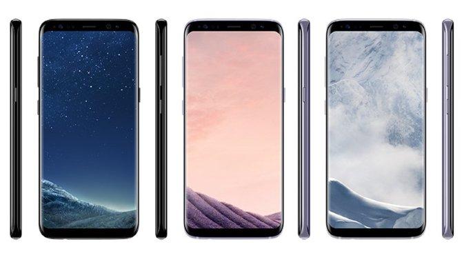 Samsung Galaxy S8 prislæk: dyrere end først antaget