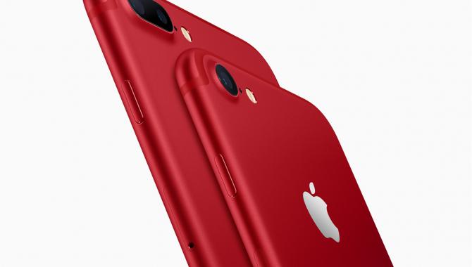Nu kommer iPhone 7 og 7 Plus i rød (PRODUCT)RED