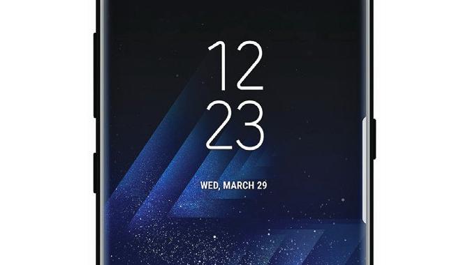 Her er det første skarpe billede af Samsung Galaxy S8