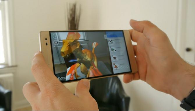 Vi prøver augmented reality med Lenovo Phab 2 Pro [WEB-TV]