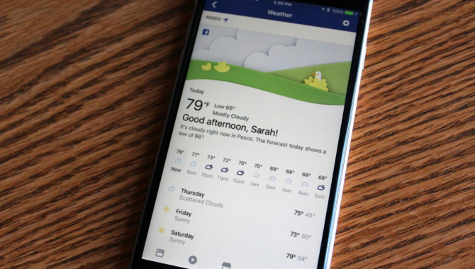 Ny Facebook-feature:  holder styr på vejret
