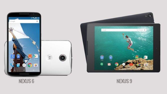 Slut med nye Android-versioner til Nexus 6 og Nexus 9