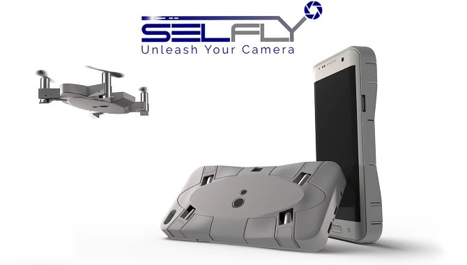 SELFLY: Dette mobilcover er også en drone