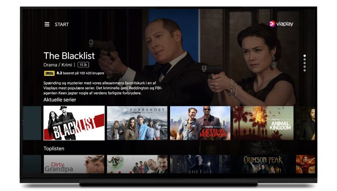 Viaplay klar med app til Android TV