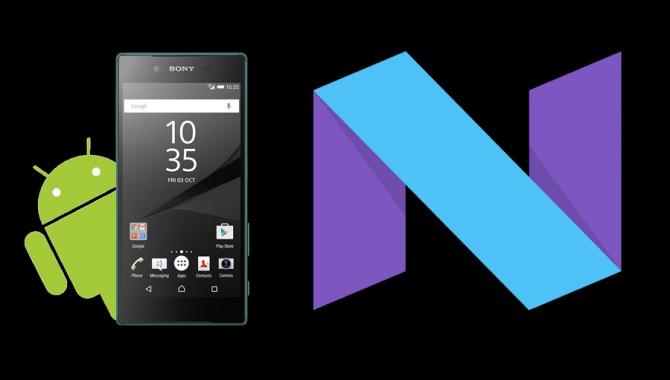 Sony stopper udbredelsen af Android 7.0 på flere modeller