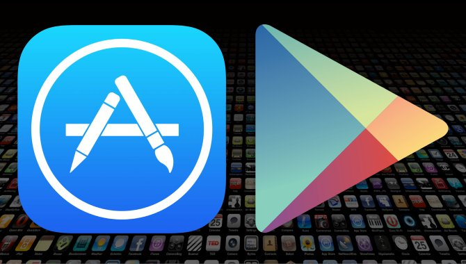 App-indtægter: Apple fører, men Google haler ind