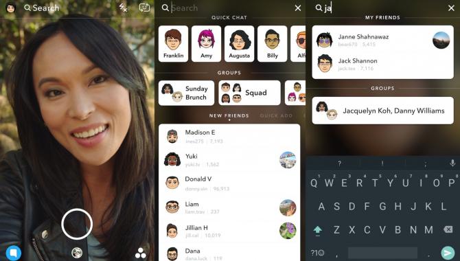 Snapchat tilføjer helt ny søgefunktion