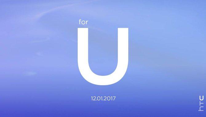 Nye HTC U-smartphones på vej: Sådan følger du eventen i morgen