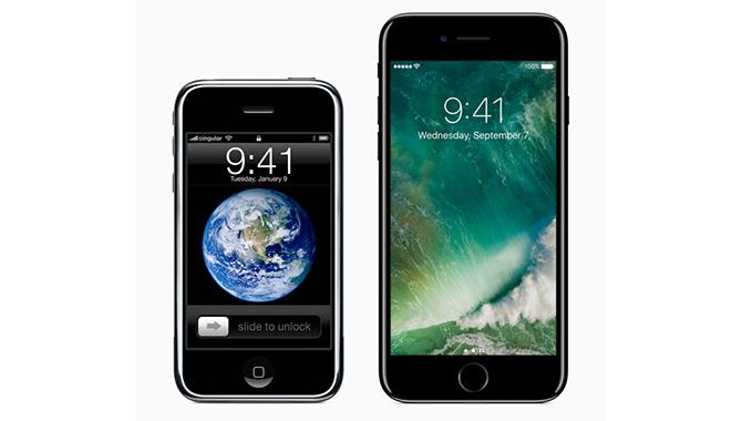 iPhone fylder 10 år – så outdatet er den første iPhone