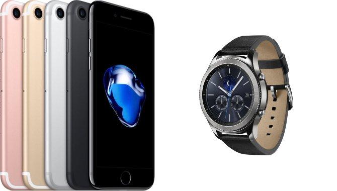 Nu virker Samsungs smartwatches også med iPhones
