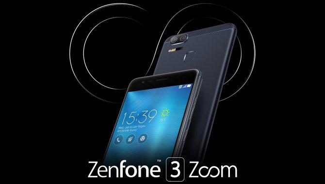 ASUS lancerer ZenFone 3 Zoom med optisk zoom og kæmpe batteri
